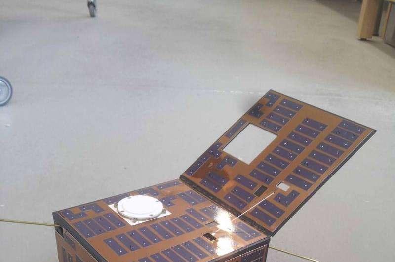 Image: Mascot-2 lander model