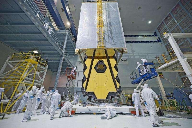 Image: NASA's Webb Telescope clean room 'transporter'
