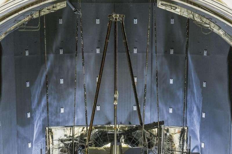 Image: Testing the James Webb Space Telescope Pathfinder