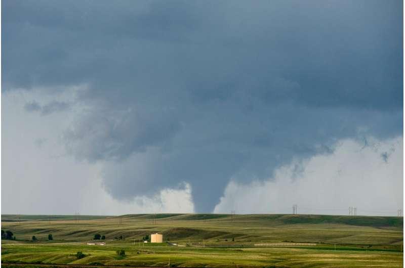 Increasing tornado outbreaks -- is climate change responsible?