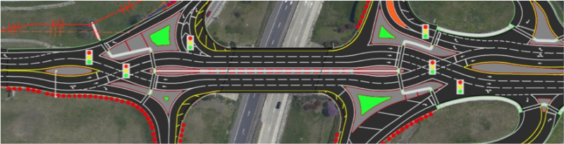 Innovative traffic interchanges help drivers avoid crashes, save lives
