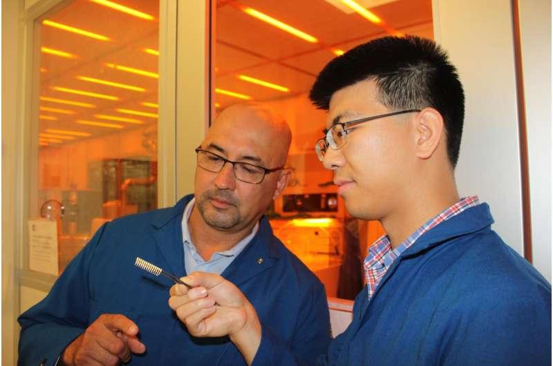 Integrated trio of 2-D nanomaterials unlocks graphene electronics applications