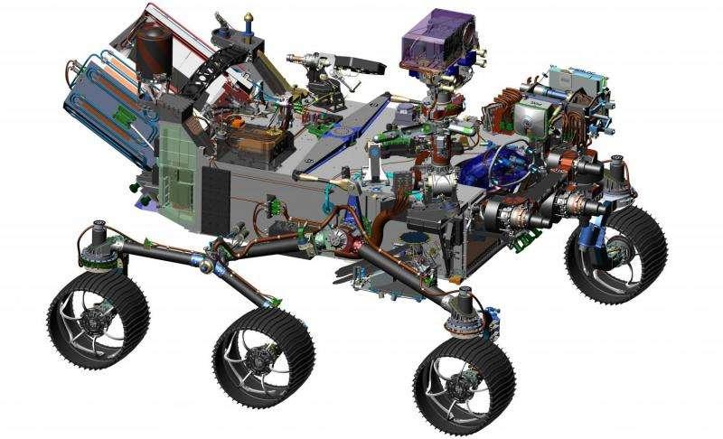 Iron-loving bacteria a model for Mars life