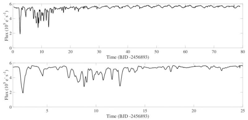 Irregular dimming of a young stellar object investigated by astronomers