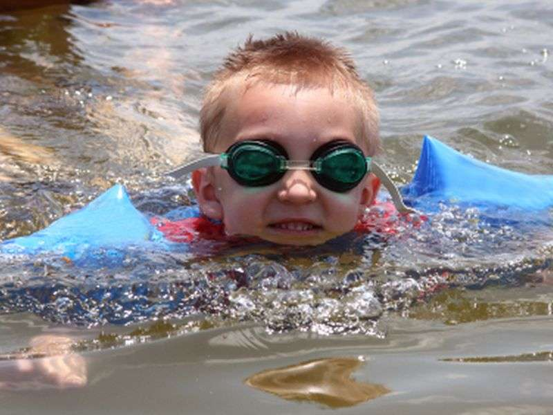 Is swimming safe in areas with the freshwater 'Brain-eating' amoeba?
