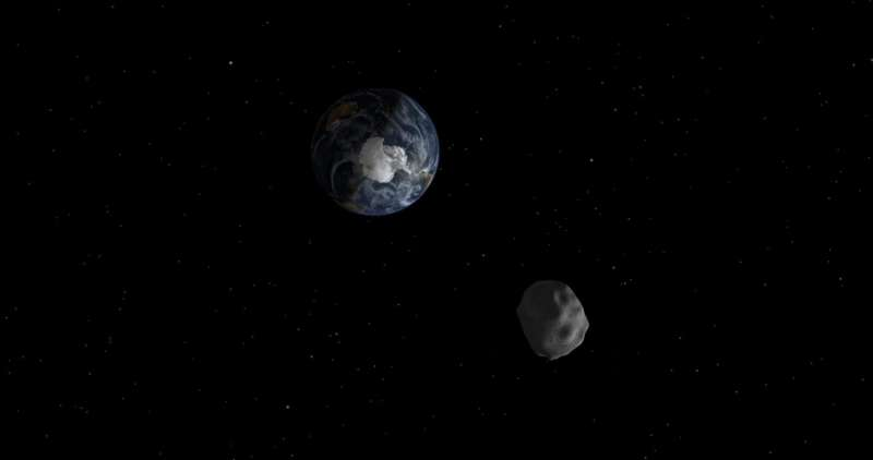 It's a bird... It's a plane... It's the tiniest asteroid!