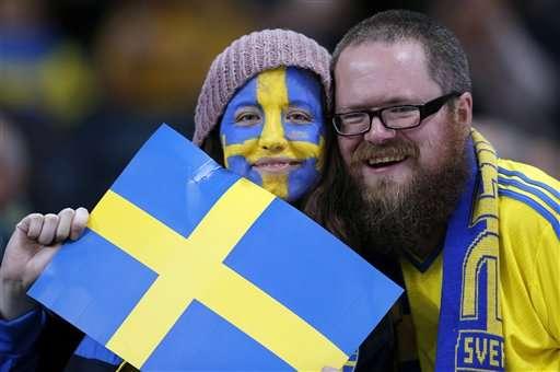 It's raining men! Sweden sees historic gender balance shift