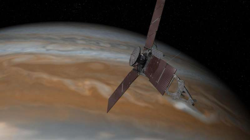 Juno Spacecraft Crosses Jupiter/Sun Gravitational Boundary