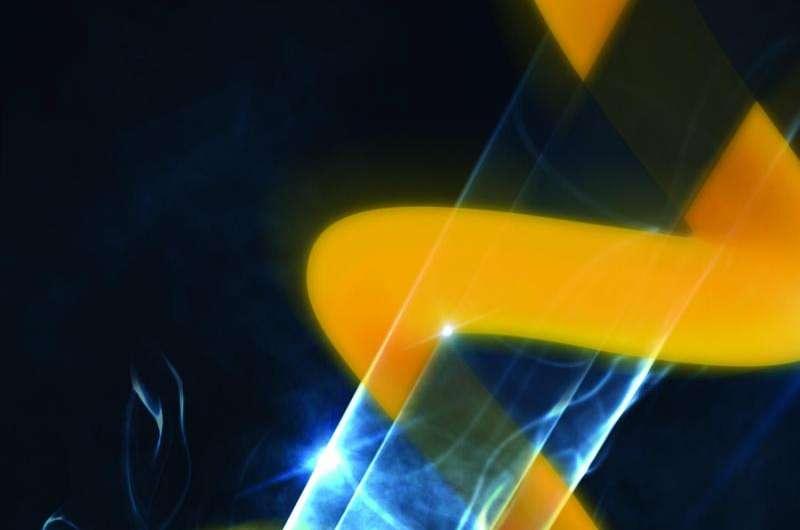 Laser beams with a 'twist'