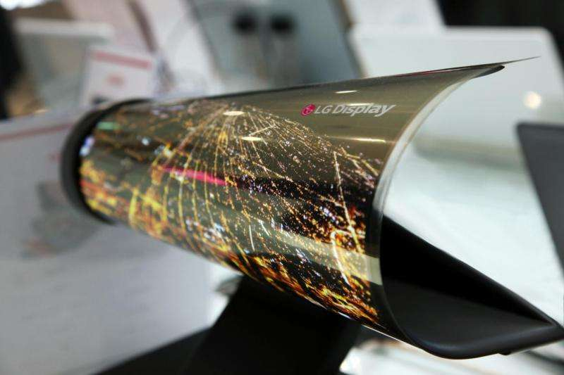 LG Display: Expect  display rollable like newspaper at CES