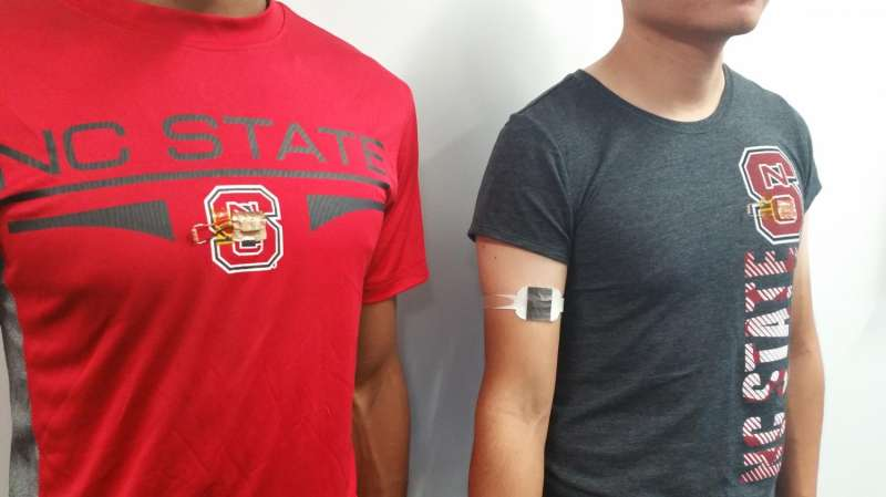Lightweight, wearable tech efficiently converts body heat to electricity