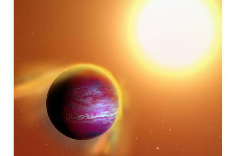 Likely new planet may be in slow death spiral