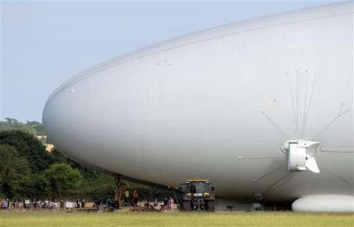 Maiden flight of giant helium-filled airship postponed