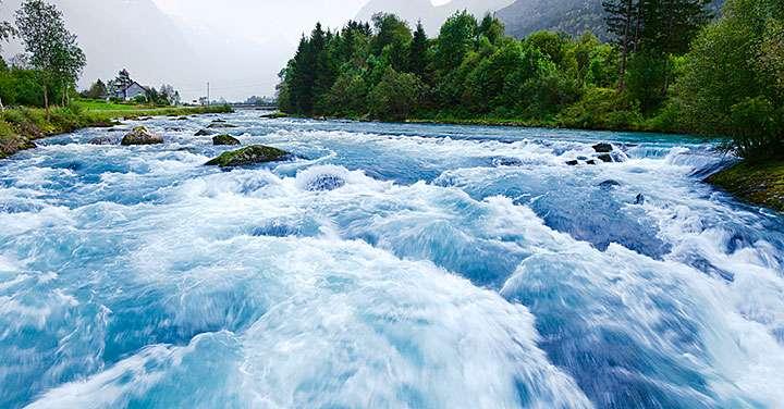 Major storm events play key role in biogeochemistry of watersheds