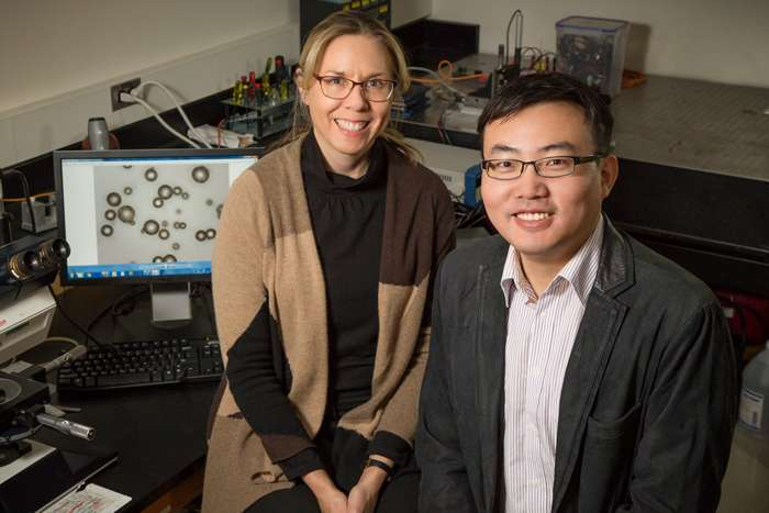 Making the invisible visible: Color-changing indicators highlight microscopic damage