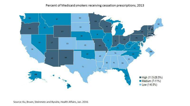 Medicaid tobacco cessation: Big gaps remain in efforts to get smokers to quit