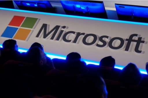 Microsoft posted a net profit of $3.8 billion as revenues dipped six percent to $20.5 billion, in results which sent Microsoft s