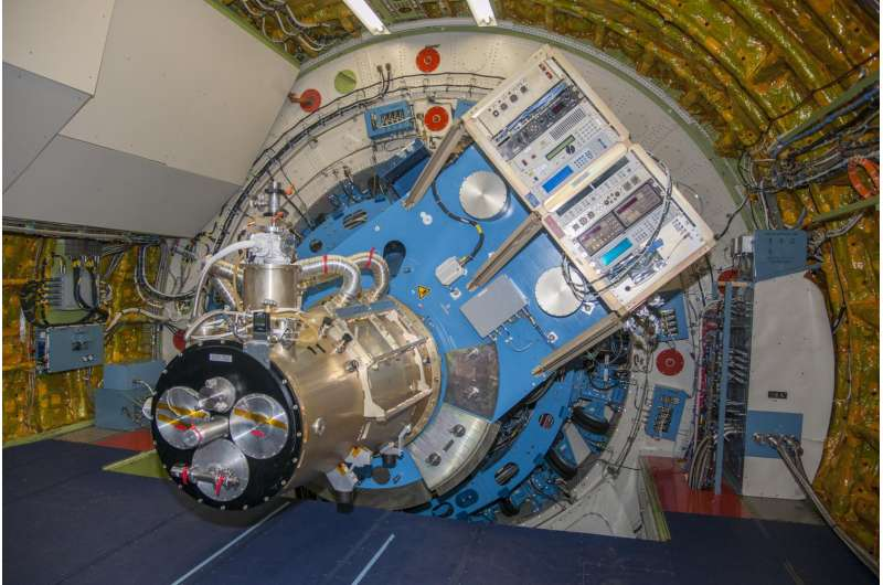 Moth's eye inspires critical component on SOFIA's newest instrument