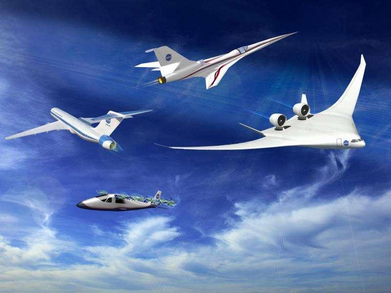 NASA aeronautics budget proposes return of X-planes