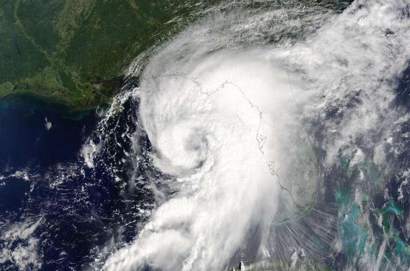 NASA animation shows landfall and progression of Hurricane Hermine