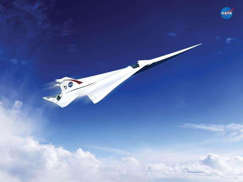NASA begins work to build a quieter supersonic passenger jet