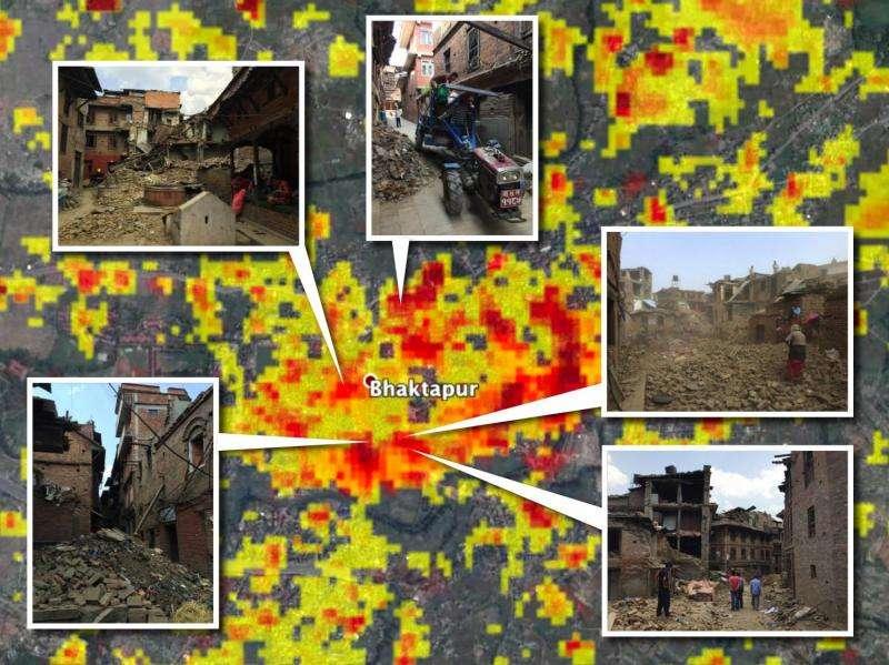 NASA damage maps may help in future quakes
