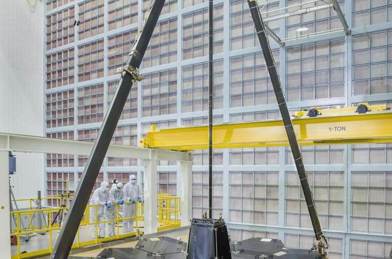 NASA marks major milestones for the James Webb Space Telescope