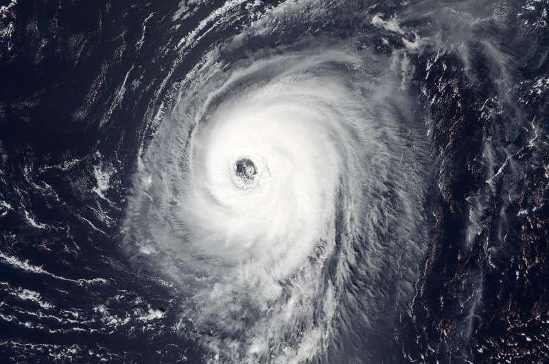 NASA observes large eye of Hurricane Gaston