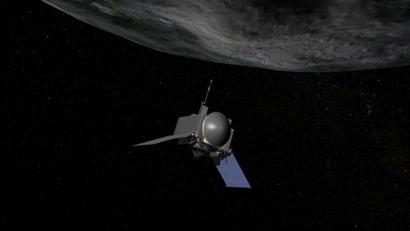 NASA tests thrusters on journey to asteroid Bennu