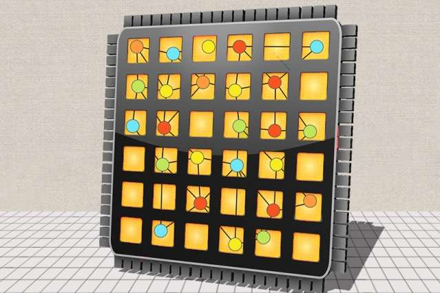 New chip design makes parallel programs run many times faster and requires one-tenth the code