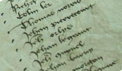 New database reveals ancestor veterans of the Hundred Years War