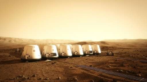 New explorers on Mars will have to live in small habitats, find water, produce their own oxygen and grow their own food