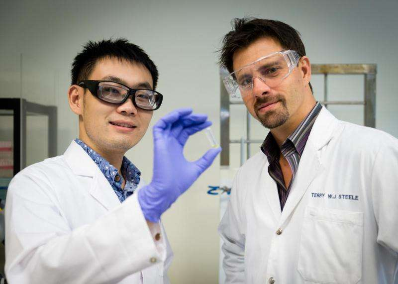 New glue instantly hardens with electric current