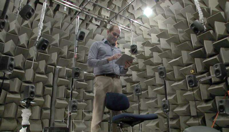 New lab mimics the sound of any room