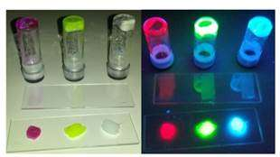 New LED with luminescent proteins