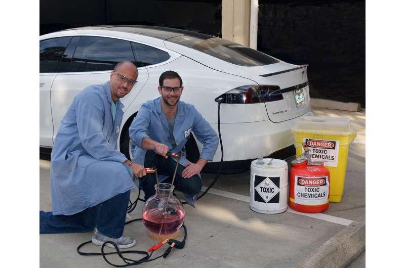 New method enlists electricity for easier, cheaper, greener chemistry