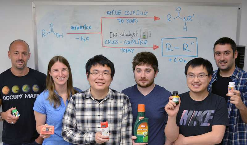 New molecule-building method opens vast realm of chemistry for pharma and other industries