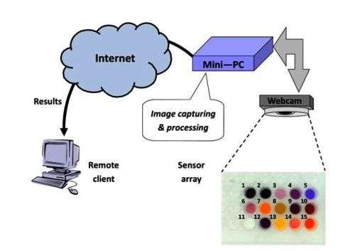 New prototype for remote detection of hazardous gases