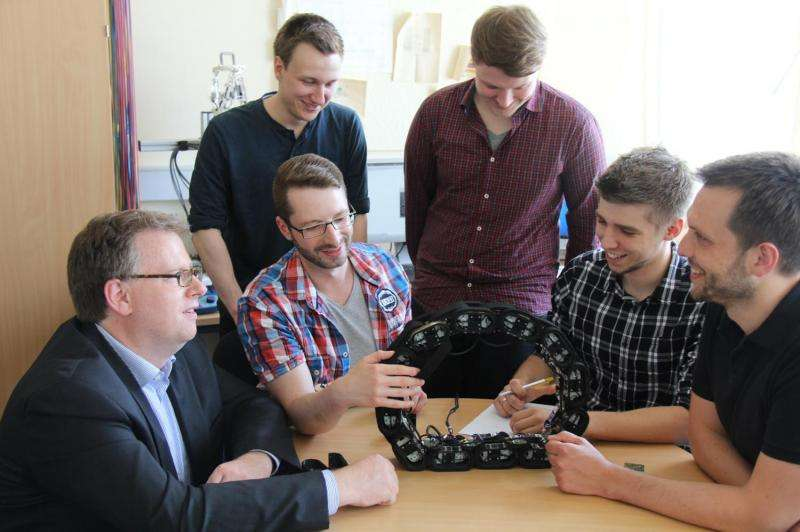 New Robot overcomes Obstacles