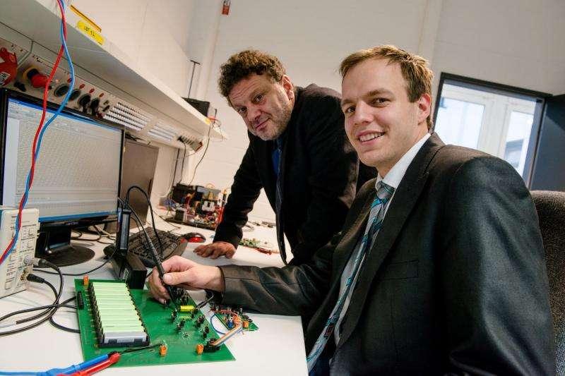 New sensor technology for e-vehicle batteries