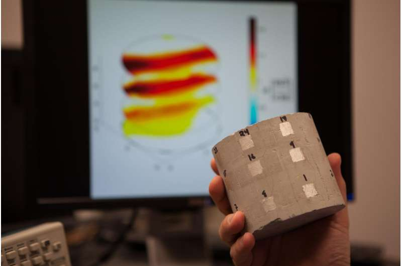 New tech uses electricity to track water, ID potential problems in concrete