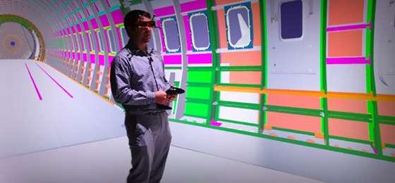 New WSU virtual reality Cave uses cutting-edge technology