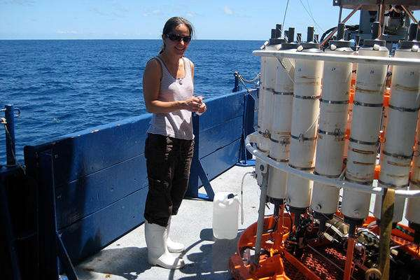 Nitrogen fixation key to ocean life
