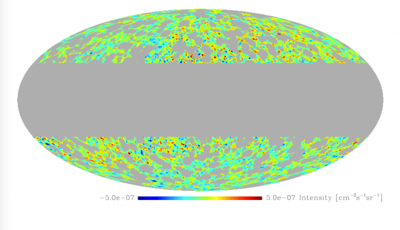 No trace of dark matter in gamma-ray background