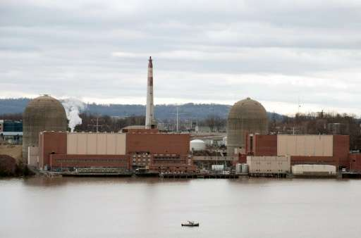 Nuclear foes have long sought to shut Indian Point, which is about 45 miles (72 kilometers) north of Times Square in Manhattan