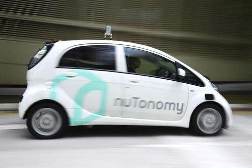 NuTonomy to test self-driving cars in Boston