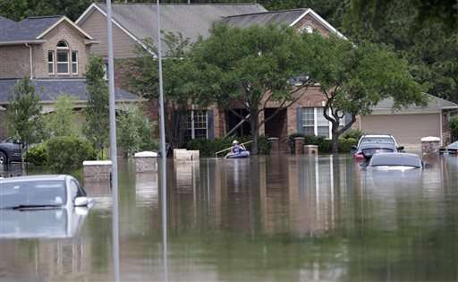 Officials watching 'high risk' dams after Houston storms