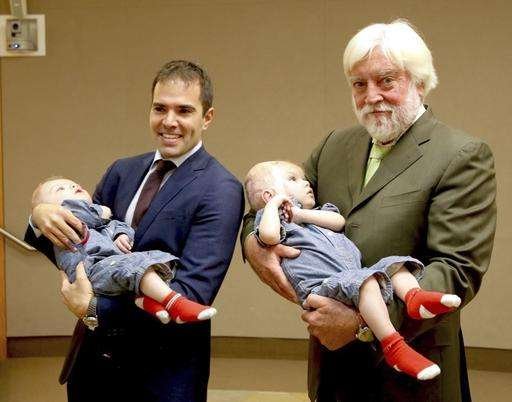 Once-conjoined twins going to rehab 9 weeks after separation
