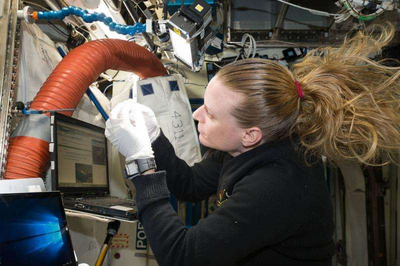 One billion base pairs sequenced on the space station