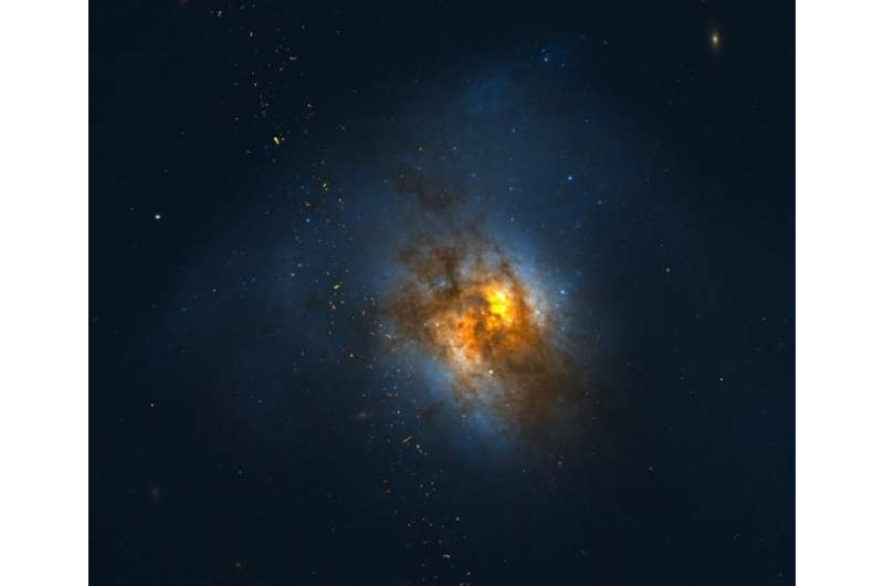 OU astrophysicists detect most luminous diffuse gamma-ray emission from Arp 220